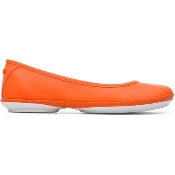Chaussures Femme Ballerines / babies Camper Ballerines cuir RIGHT NINA orange