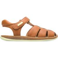 Chaussures Garçon Sandales et Nu-pieds Camper Sandales cuir BICHO marron