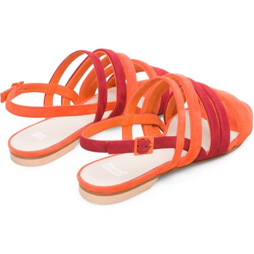 K200800 Multicolor Nu Et pieds Femme Camper Twins 001 Sandales 9IDH2E