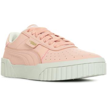 Chaussures Femme Baskets basses Puma Cali Nubuck Wn's rose