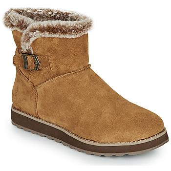 Chaussures Femme Boots Skechers KEEPSAKES 2.0 Marron