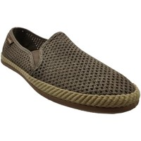 Chaussures Homme Espadrilles Victoria 20031 Taupe toile