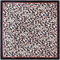 Accessoires textile Homme Echarpes / Etoles / Foulards Allée Du Foulard Carré de soie Piccolo Fauve - Couleur - Rose - 50x50 cm Rose