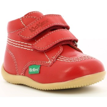 4dabce705aeaf Chaussures Enfant Boots Kickers Billy Velk ROUGE