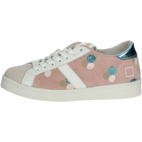 Chaussures Femme Baskets basses Date E19-26 Rose