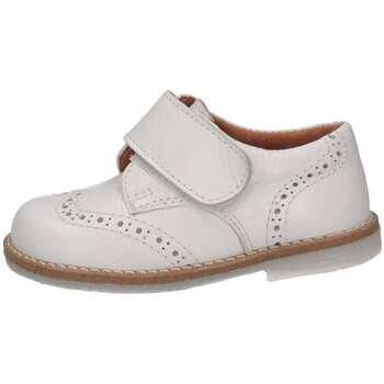 Chaussures Enfant Derbies Eli 6214Y BIANCO French shoes Bébé Blanc Blanc