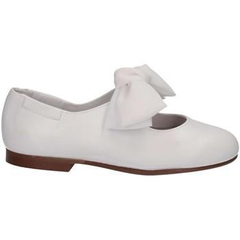 Chaussures Enfant Ballerines / babies Papanatas 1496Y BIANCO Blanc