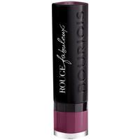 Beauté Femme Rouges à lèvres Bourjois Rouge Fabuleux Lipstick 015-plum Plum Pidou 2,4 g