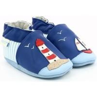 Chaussures Fille Chaussons bébés Robeez 686480 bleu