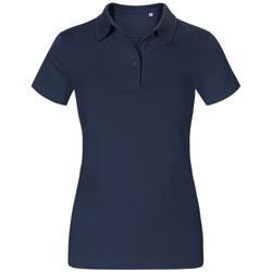 Vêtements Femme Polos manches courtes Promodoro Polo Jersey Femmes bleu marine