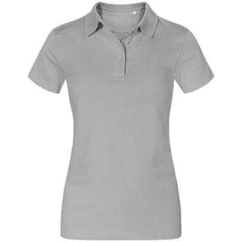 Vêtements Femme Polos manches courtes Promodoro Polo Jersey Femmes gris clair