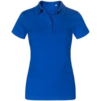Vêtements Femme Polos manches courtes Promodoro Polo Jersey Femmes bleu roi