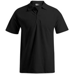 Vêtements Homme Polos manches courtes Promodoro Polo de travail grandes tailles Hommes noir
