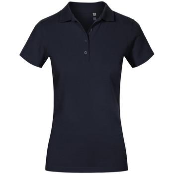 Vêtements Femme Polos manches courtes Promodoro Polo de travail Femmes bleu marine