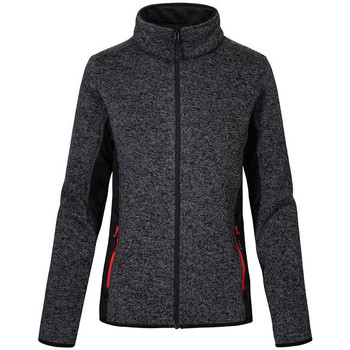 Vêtements Femme Polaires Promodoro Veste de travail en laine grandes tailles Femmes graphite chiné