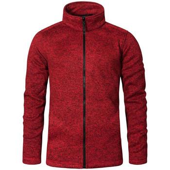 Vêtements Homme Polaires Promodoro Veste en laine C+ grandes tailles Hommes Rouge chiné