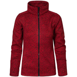 Vêtements Femme Polaires Promodoro Veste en laine C+ Femmes Rouge chiné