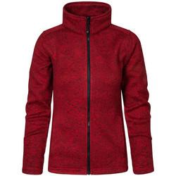 Vêtements Femme Polaires Promodoro Veste en laine C+ grandes tailles Femmes Rouge chiné