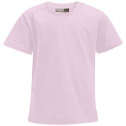 Vêtements Enfant T-shirts manches courtes Promodoro T-shirt Premium Enfants rose clair