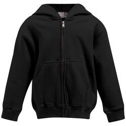 Vêtements Enfant Sweats Promodoro Veste à capuche Enfants noir
