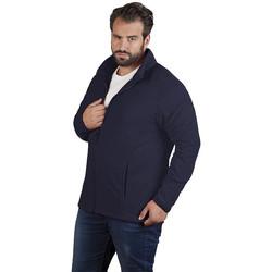 Vêtements Homme Polaires Promodoro Veste polaire C+ grandes tailles Hommes bleu marine