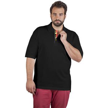 Vêtements Homme Polos manches courtes Promodoro Polo supérieur Fan Belgique grandes tailles Hommes noir