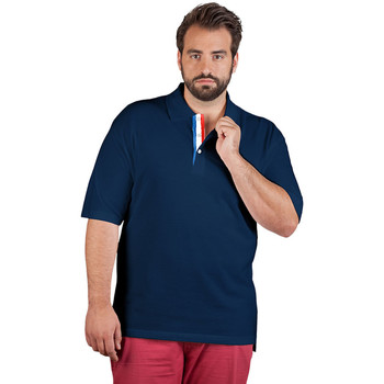 Vêtements Homme Polos manches courtes Promodoro Polo supérieur Fan France grandes tailles Hommes bleu marine