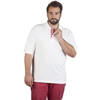 Vêtements Homme Polos manches courtes Promodoro Polo supérieur Fan Pologne grandes tailles Hommes blanc