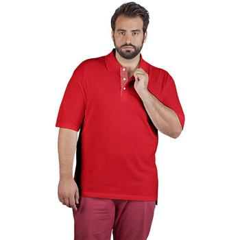 Vêtements Homme Polos manches courtes Promodoro Polo supérieur Fan Suisse grandes tailles Hommes rouge feu