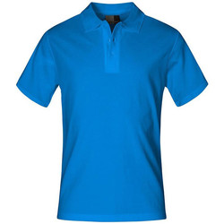 Vêtements Homme Polos manches courtes Promodoro Polo supérieur grandes tailles Hommes turquoise