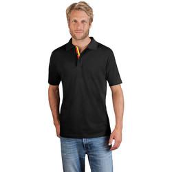 Vêtements Homme Polos manches courtes Promodoro Polo supérieur Fan Allemagne Hommes noir
