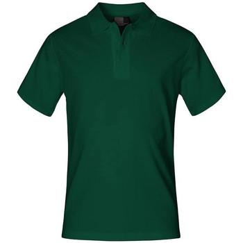 Vêtements Homme Polos manches courtes Promodoro Polo supérieur grandes tailles Hommes vert forêt
