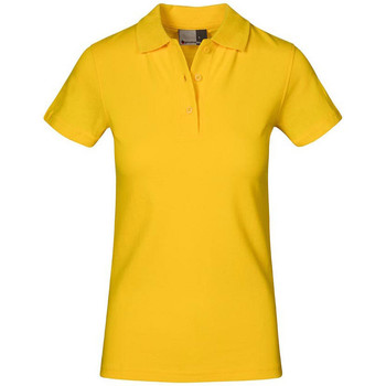 Vêtements Femme Polos manches courtes Promodoro Polo supérieur grandes tailles Femmes or