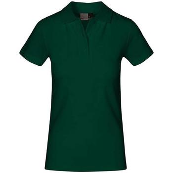 Vêtements Femme Polos manches courtes Promodoro Polo supérieur Femmes vert forêt