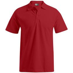 Vêtements Homme Polos manches courtes Promodoro Polo de travail grandes tailles Hommes rouge feu