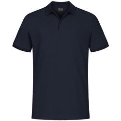 Vêtements Homme Polos manches courtes Promodoro Polo de travail grandes tailles Hommes bleu marine