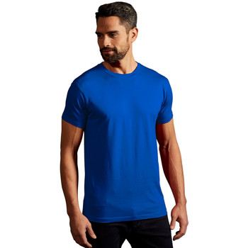 T Courtes shirts shirt Vêtements Roi Manches Bleu Promodoro Hommes Homme Premium T 7vbYyfg6