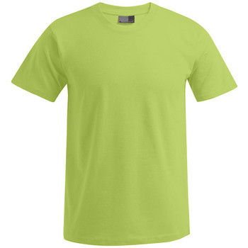 Vêtements Homme T-shirts manches courtes Promodoro T-shirt Premium grandes tailles Hommes vert lime sauvage