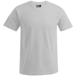 Vêtements Homme T-shirts manches courtes Promodoro T-shirt Premium grandes tailles Hommes gris clair chiné