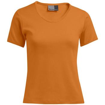 Vêtements Femme T-shirts manches courtes Promodoro T-shirt interlock grande taille Femmes promotion orange