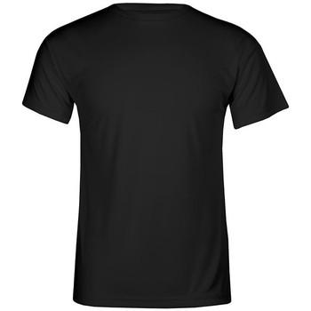 Vêtements Homme T-shirts manches courtes Promodoro T-shirt UV-Performance grandes tailles Hommes noir