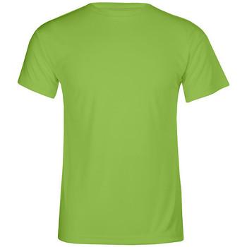 Vêtements Homme T-shirts manches courtes Promodoro T-shirt UV-Performance grandes tailles Hommes vert fluo