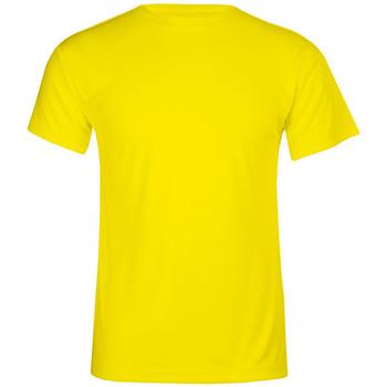 Vêtements Homme T-shirts manches courtes Promodoro T-shirt UV-Performance grandes tailles Hommes jaune fluo