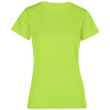 Vêtements Femme T-shirts manches courtes Promodoro T-shirt UV-Performance Femmes vert fluo