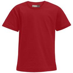 Vêtements Enfant T-shirts manches courtes Promodoro T-shirt Premium Enfants rouge feu