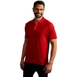 Vêtements Homme Polos manches courtes Promodoro Polo supérieur Hommes rouge feu