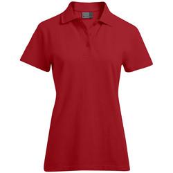 Vêtements Femme Polos manches courtes Promodoro Polo supérieur Femmes rouge feu