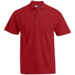 Vêtements Homme Polos manches courtes Promodoro Polo Premium grandes tailles Hommes rouge feu