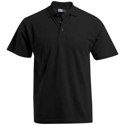 Vêtements Homme Polos manches courtes Promodoro Polo Premium grandes tailles Hommes noir
