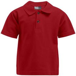 Vêtements Enfant Polos manches courtes Promodoro Premium Polo Enfants rouge feu